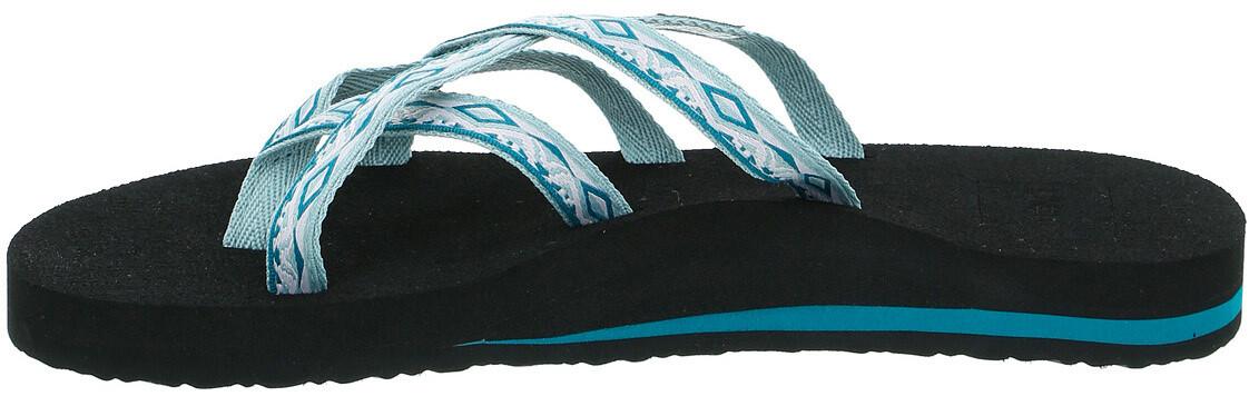 1024c9b4c Teva Olowahu Sandals Women sari ribbon graymist